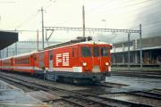 Deh 4/4 II 92 in Andermatt. 1987