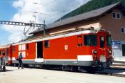Deh 4/4 I 52 in Oberwald. 1987