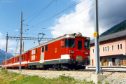 Deh 4/4 I 55 in Oberwald. 1987