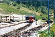 Umfahrungstunnel Oberwald, Furka-Bergstrecke. 1987