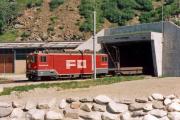 Ge 4/4 81 in Realp. 1988