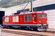 HGm 4/4 61 in Andermatt. 1988