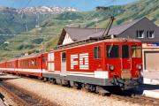 Deh 4/4 II 94 in Realp. 1988