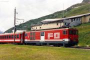 Deh 4/4 II 94 in Nätschen. 1988