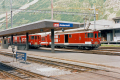 Deh 4/4 I und II in Andermatt. 1988