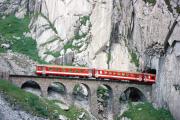 Schöllenenbahn. 1988