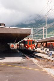 Deh 4/4 I in Andermatt. 1988