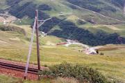 HGe 4/4 oberhalb Andermatt. 1988