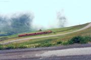 Deh 4/4 II Pendelzug unterhalb Nätschen. 1988