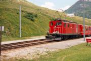 HGe 4/4 I 32 in Nätschen. 1988