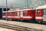 BDeh 2/4 45 in Andermatt. 1992