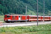 Deh 4/4 I 95 in Oberwald, 1997