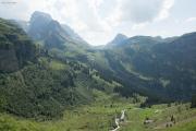 Aufstieg zur Glärnischhütte SAC | Bös Fulen (l) und Pfannenstock