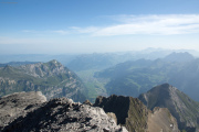 Vrenelisgärtli (2904m) | Rautispitz mit Linthebene