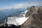Abstieg | Schwandergrat, Guppenfirn, Tödi