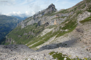 Abstieg | oberhalb der Glärnischhütte SAC