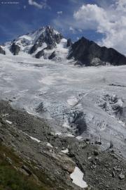 Ref. Albert 1er CAF (2702müM)  |  Aig. du Chardonnet mit dem Glacier du Tour