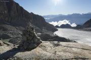 Cab du Trient --> Champex |  Glacier d'Orny