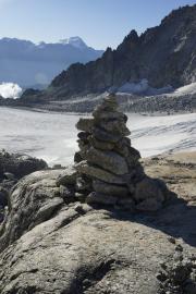 Cab du Trient --> Champex |  Glacier d'Orny; Grand Combin