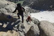 Cab du Trient --> Champex |  Am Glacier d'Orny