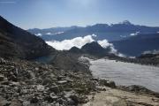 Cab du Trient --> Champex |  See bei der Cab. d'Orny CAS; Glacier d'Orny; Grand Combin