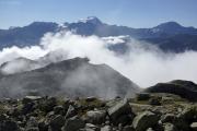 Cab du Trient --> Champex |  Grand Combin & Mont Vélan