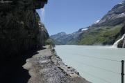Mauvoisin --> Cab. Chanrion |  Lac de Mauvoisin (1975müM)