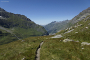 Mauvoisin --> Cab. Chanrion |  Weg zum Col de Tsofeiret