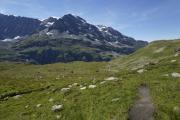 Mauvoisin --> Cab. Chanrion |  Weg  zum Col de Tsofeiret. Tournelon Blanc