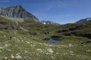 Mauvoisin --> Cab. Chanrion |  Aufstieg zum Col de Tsofeiret.