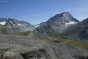 Mauvoisin --> Cab. Chanrion |  Col de Tsofeiret (2628müM). Mont Gelé
