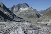 Chanrion --> Cab. des Vignettes |  Glacier d'Otemma. Mont Gelé