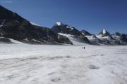 Chanrion --> Cab. des Vignettes |  Glacier d'Otemma. La Singla, Bec de la Sasse, Aouille Tseuque, Bec d'Epicoune (vlnr)