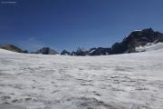 Chanrion --> Cab. des Vignettes |  Glacier d'Otemma. Pointe und Dents de Bertol, Dent Blanche