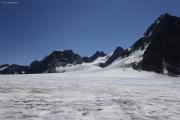 Chanrion --> Cab. des Vignettes |  Glacier d'Otemma. Col de Charmotane. Mont Collon