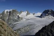Cab. des Vignettes |  Glacier du M. Collon. Mont Collon, L'Evêque, Col de l'Evêque, Petit M. Collon (vlnr)