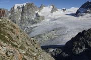 Cab. des Vignettes |  Glacier du M. Collon. Mont Collon, L'Evêque, Col de l'Evêque (vlnr)