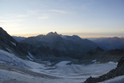 Cab. des Vignettes |  Glacier de Pièce. Aiguilles Rouges d'Arolla