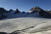 Cab. des Vignettes --> Cab. de Bertol |  Col de Charmotane, Glacier du M. Collon. L'Evêque, Petit M. Collon