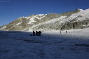 Cab. des Vignettes --> Cab. de Bertol |  Col de Charmotane, Glacier du M. Collon