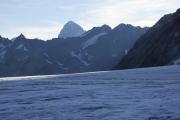 Cab. des Vignettes --> Cab. de Bertol |   Col de Charmotane; Glacier du M. Collon. Dent Blanche