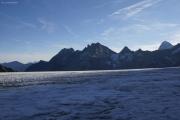 Cab. des Vignettes --> Cab. de Bertol  |  Col de Charmotane; Glacier du M. Collon. Aig. de la Tsa, Pointe de Bertol, Dent Blanche