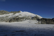 Cab. des Vignettes --> Cab. de Bertol |   Col de Charmotane; Glacier du M. Collon. Pigne d'Arolla