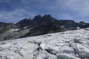 Cab. des Vignettes --> Cab. de Bertol |  Haut Glacier d'Arolla. Dents des Bouquetins