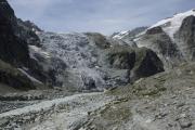 Cab. des Vignettes --> Cab. de Bertol |  Glacier du Mont Collon