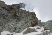 Cabane de Bertol CAS (3311müM) |  Zum Schluss noch diese Leitern hoch...