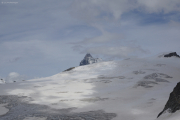 Cabane de Bertol CAS (3311müM) |  Glacier du Mont Miné. Matterhorn, Tête Blanche