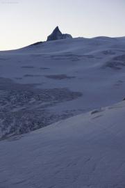 Cabane de Bertol CAS (3311müM) |  Glacier du Mont Miné. Matterhorn