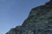 Cab. de Bertol --> Schönbielhütte |  Leiter zur Cab. de Bertol hoch, vom Glacier du Mont Miné aus.