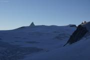 Cab. de Bertol --> Schönbielhütte |  Glacier du Mont Miné, Matterhorn, Tête Blanche